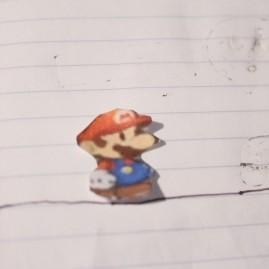 """""""Paper"""" Mario"""